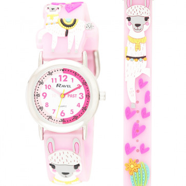 Kid's Time-Teacher Watch - Lucy Llama