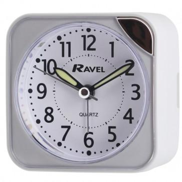 Multifunction Digital Cube Clock - White