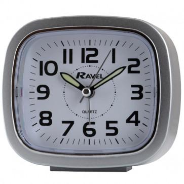 Retro Alarm clock - Silver