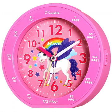 Children's Time Teacher Clock - Unicorn