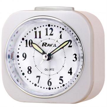 Pastel Alarm Clock - White