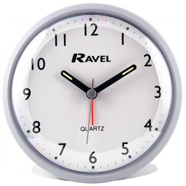 Contemporary Slim Alarm Clock - Matt Grey