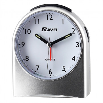Arch Alarm Clock - Silver