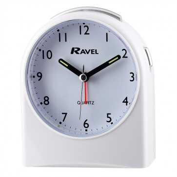 Arch Alarm Clock - White