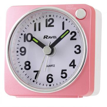 Ultra Mini Alarm clock - White / Gold
