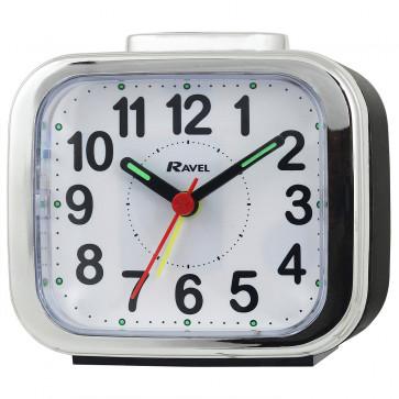 Big Bold Button Alarm clock - Black
