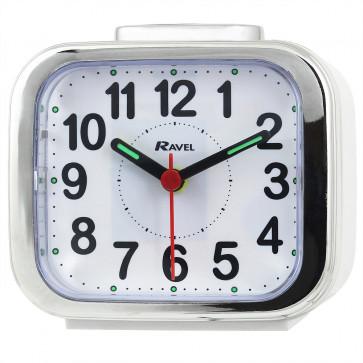 Big Bold Button Alarm clock - White