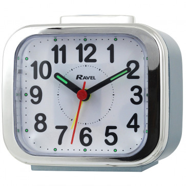 Big Bold Button Alarm clock - Blue