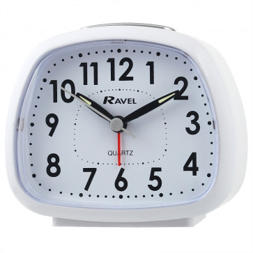 Big Bold Bell Alarm - White
