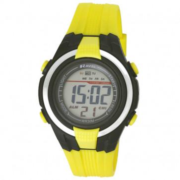 Small Digital Watch - Yellow