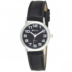 Women's Easy Read Watch - Black