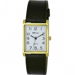 Men's Traditional Watch - Black / Gold Tone