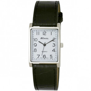 Men's Traditional Watch - Black / Silver Tone