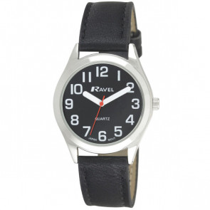 Men's Super Bold Easy Read Watch - Black