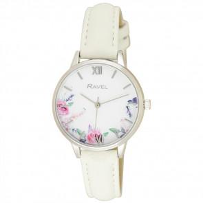 Cottage Garden Blossom Watch - Ivory