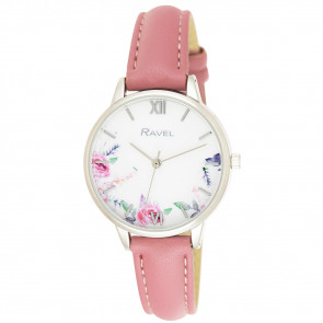 Cottage Garden Blossom Watch - Blush Pink
