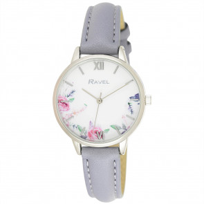Cottage Garden Blossom Watch - Sky Blue