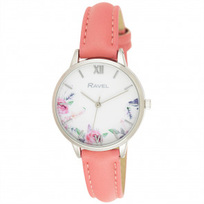 Cottage Garden Blossom Watch - Coral