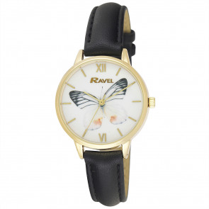Butterfly Watch - Black