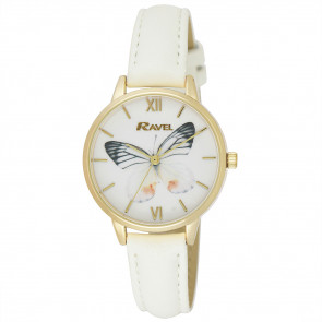 Butterfly Watch - White