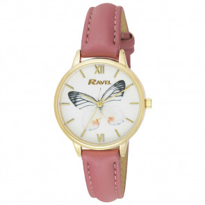 Butterfly Watch - Blush Pink
