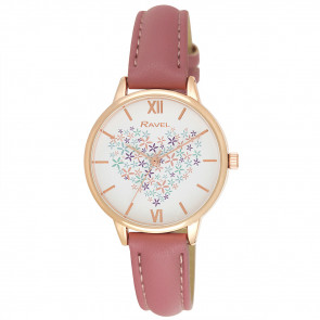 Heart Bouquet Watch - Blush Pink