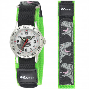 Kids Easy Fasten Dinosaur Watch
