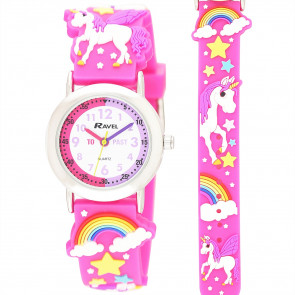 Kid's Time-Teacher Watch - Sparkle Unicorn