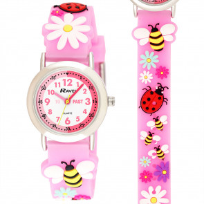 Kid's Time-Teacher Watch - Bertie Bee