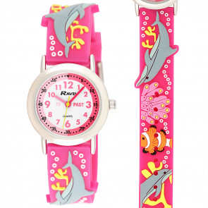 Kid's Time-Teacher Watch - Dougie Dolphin