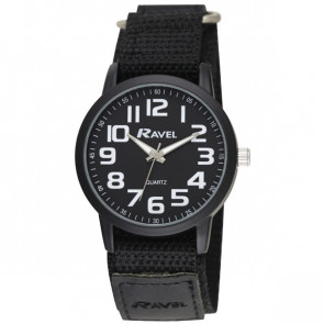 Easy Fasten Sports Watch - Black