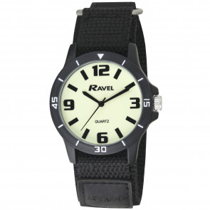 Glow in the Dark Night-work Watch - Black