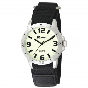 Glow in the Dark Night-work Watch - Silver