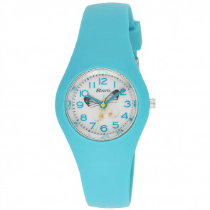 Silicone Butterfly Watch - Green