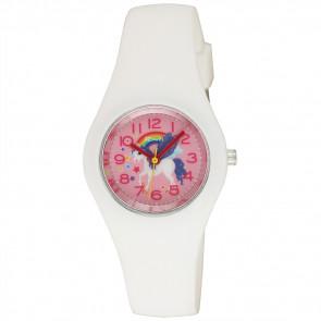 Silicone Unicorn Watch - White