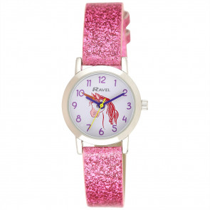 Girl's Sparkle Glitter Watch - Unicorn