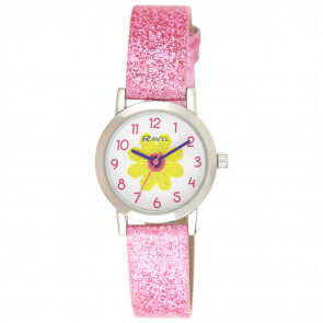 Girl's Sparkle Glitter Watch - Daisy