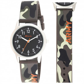 Silicone Army Watch
