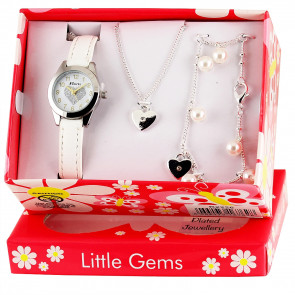 Little Gems Gift Set - Heart Celebration White