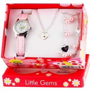 Little Gems Gift Set - Heart Celebration Pink
