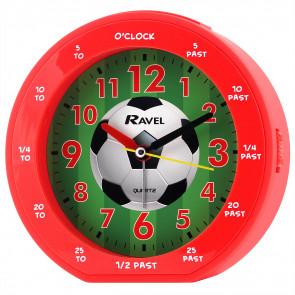 Children's time teacher clock - Red Football
