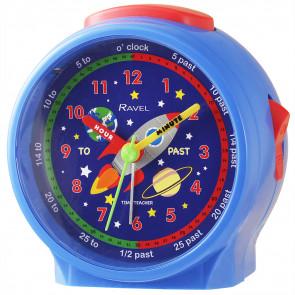 Children's Character Alarm Clock -Space Rocket