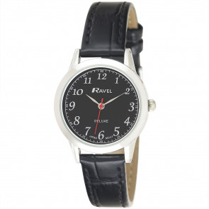 Women's Classic Leather Watch - Black