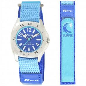Boy's Easy Fasten 5ATM Watch - Blue