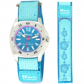 Girl's Easy Fasten 5ATM Watch - Turquoise