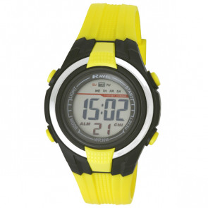 Small Digital Watch - Yellow