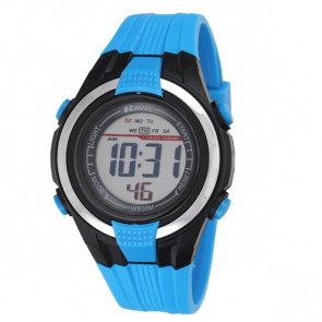Small Digital Watch - Blue
