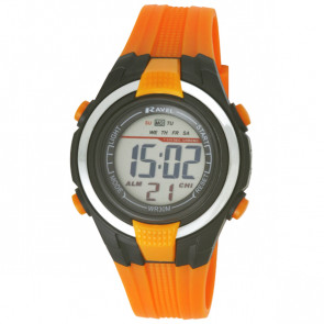 Small Digital Watch - Orange