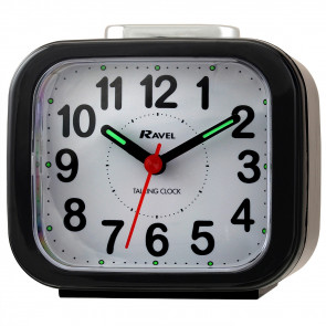 Talking Clock - Black