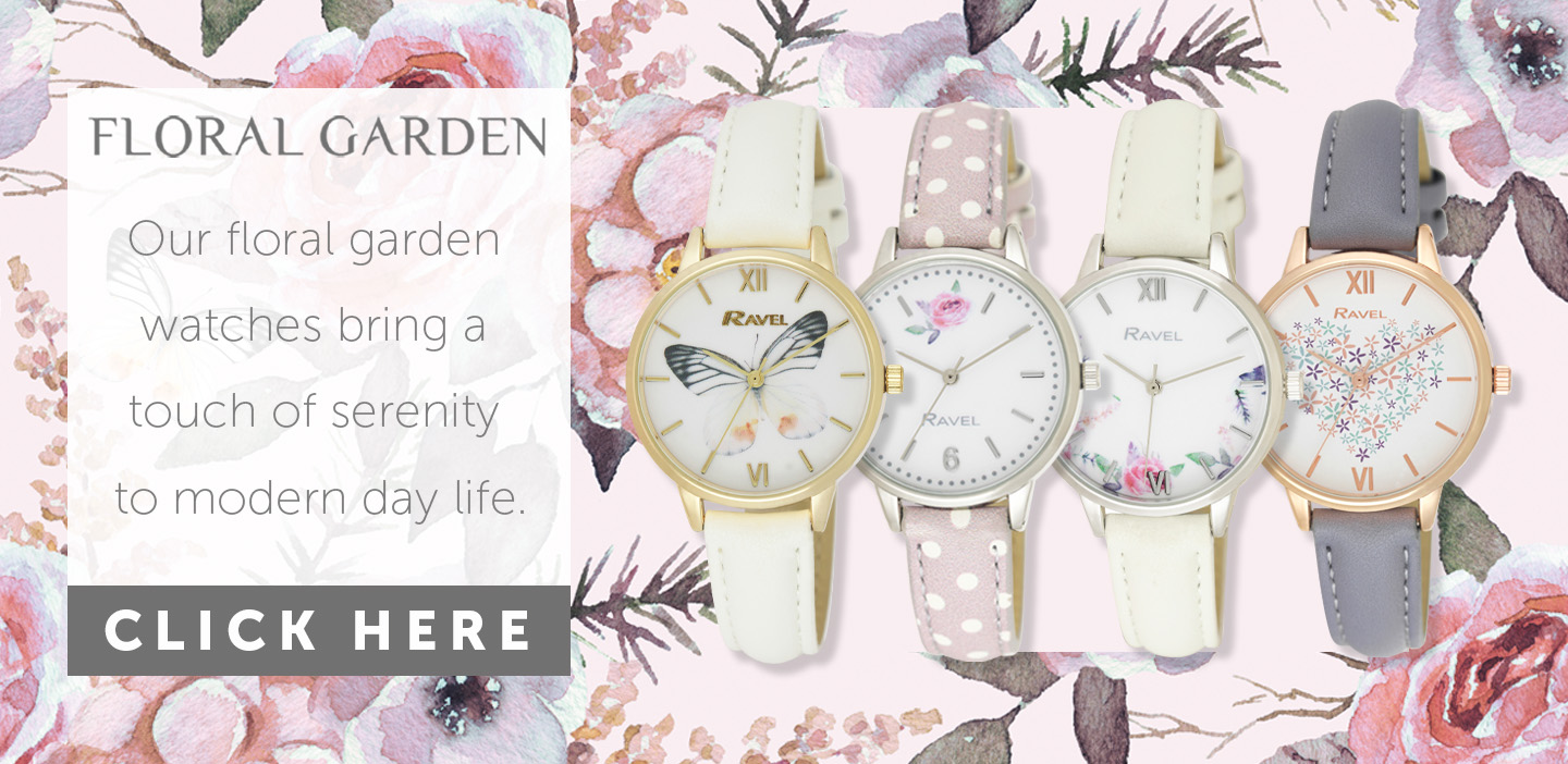 Ravel Floral Watches